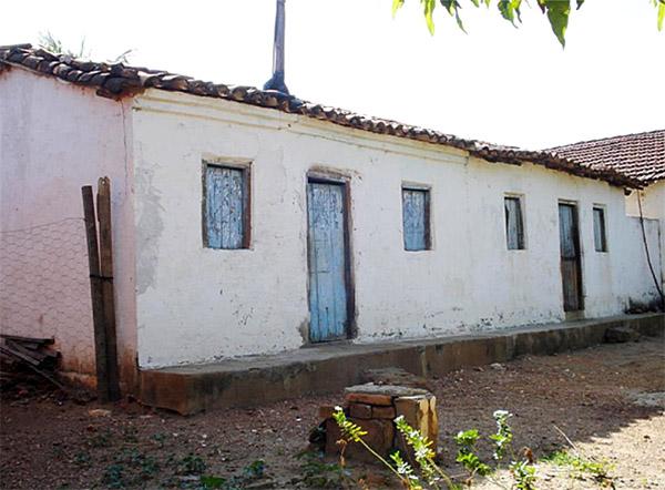 Casa onde nasceu